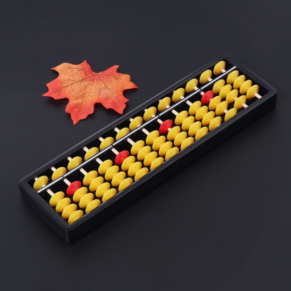 HBB Abacus Soroban Beads Column Kid School Learning Tools Educational Math Toys