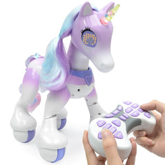 Light Music With USB Smart Touch Remote Control Electric Smart Horse Children New Robot Electronic Pet Educational Toys