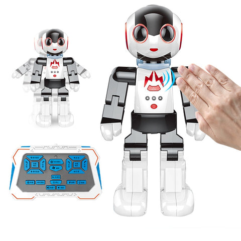 2018 Newest Multi-functional Intelligent Gesture Sensing Robot 2842 Dancing and Musical Electronic RC Robot Kids Birthday Toy