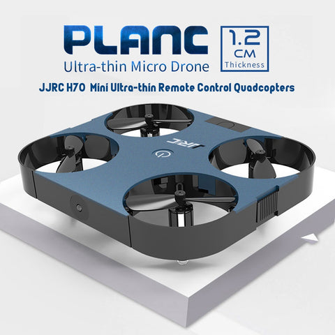 2019 New Original JJRC Mini Drone Ultra-thin Remote Control Quadcopters 4CH PLANC Attitude Hold With Foldable Arm Outdoor Toys