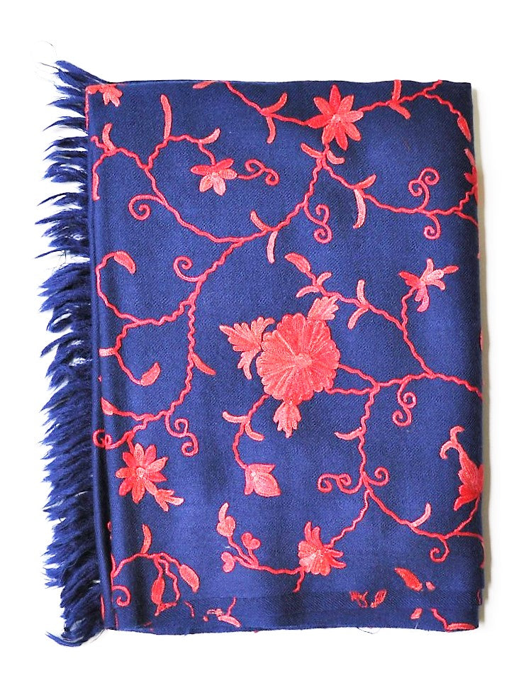 PASHMINA SCARF ROYAL BLUE