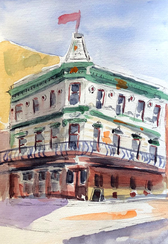Camp St. Landmark - Marina's Watercolors