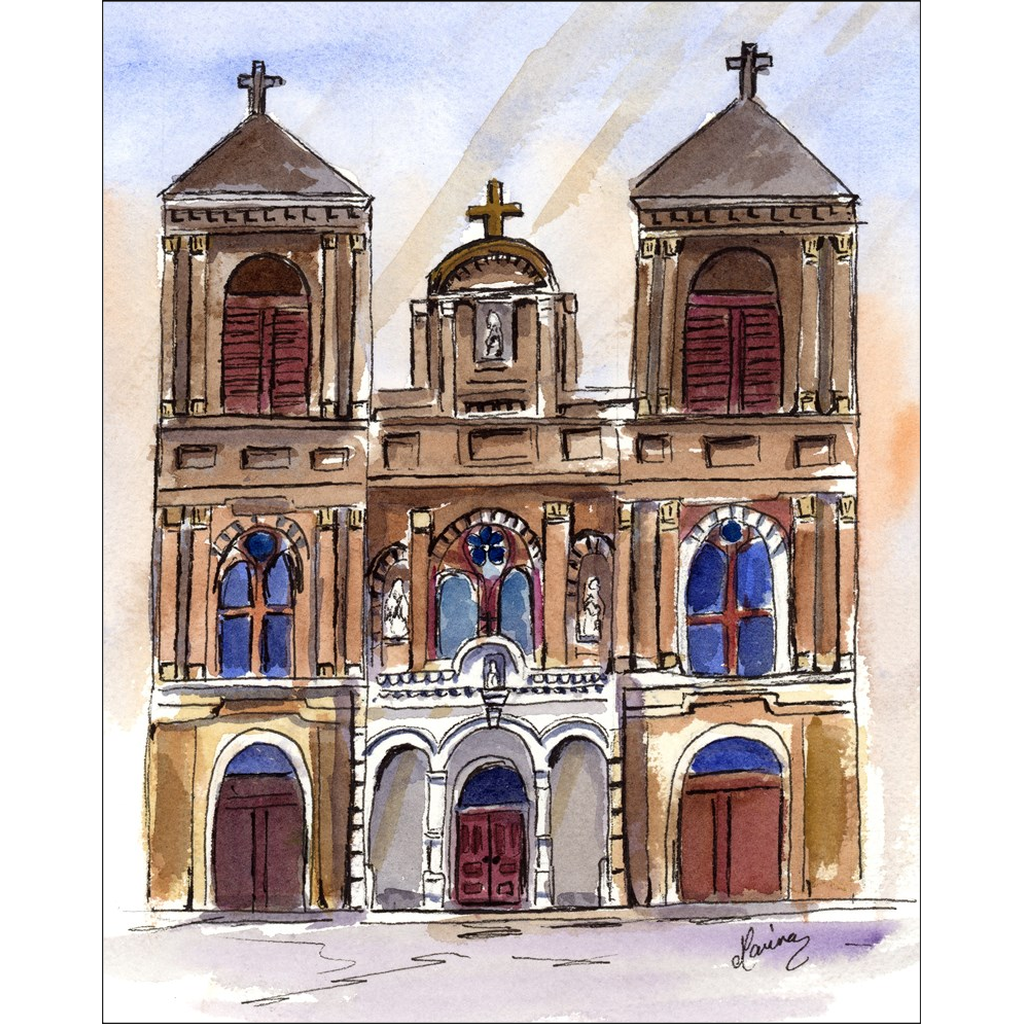 """Saint Alphonse"" Giclee Art Prints - Marina's Watercolors"
