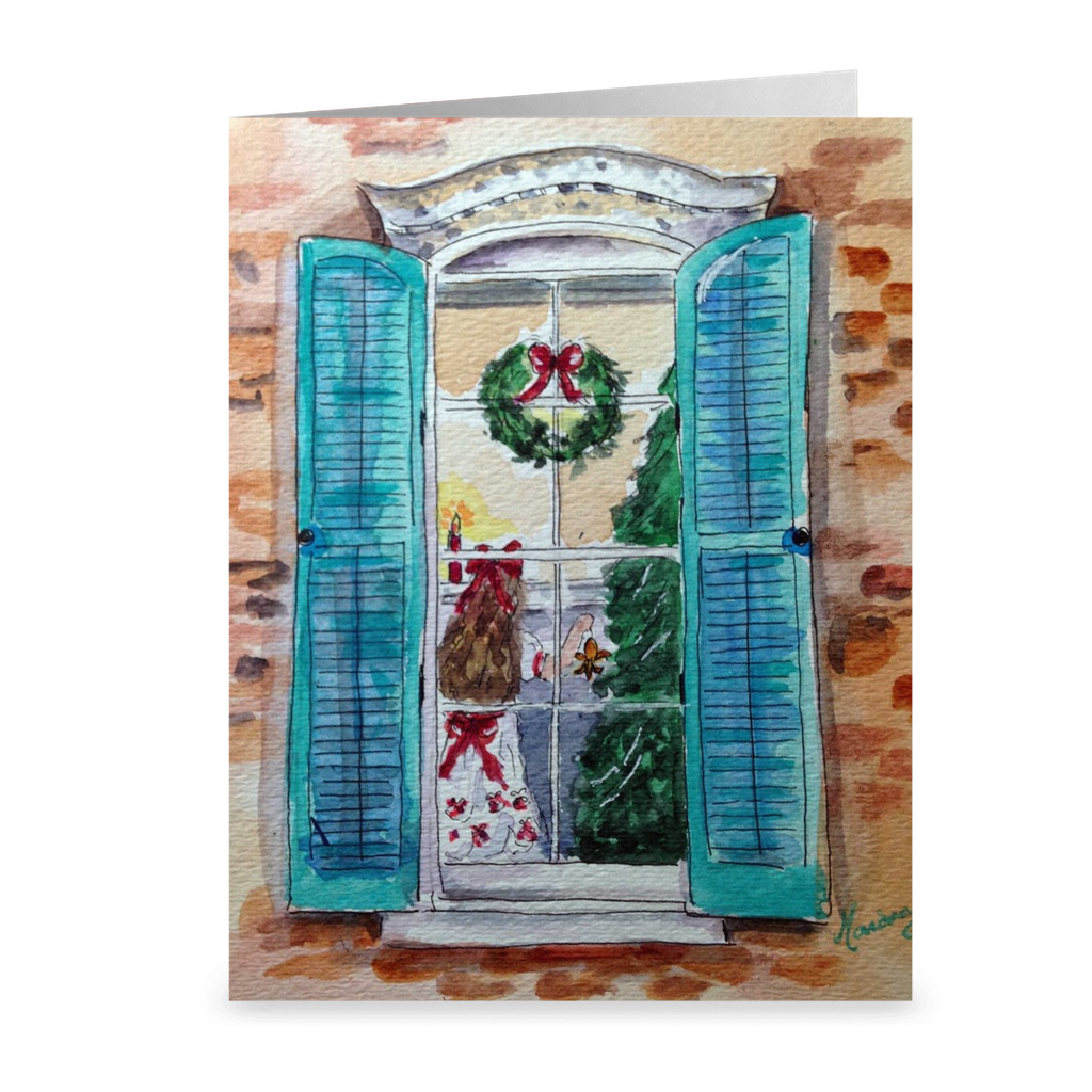 """Christmas 2015"" 4.5 x 5 Folded Cards"