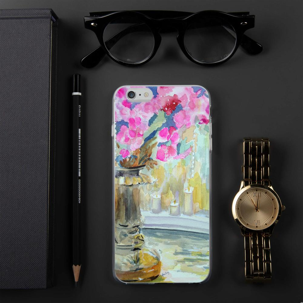 "iPhone ""Flowers"" Case - Marina's Watercolors"