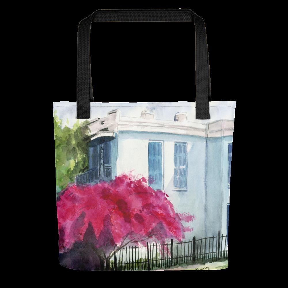 "Tote bag featuring ""Splendor"" - Marina's Watercolors"