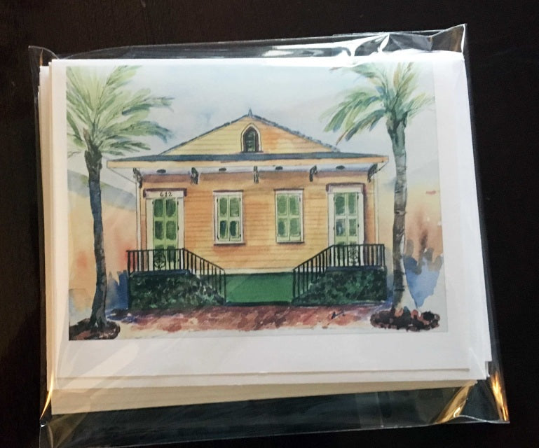Pack of 6 - 4x6 Notecards - Marina's Watercolors