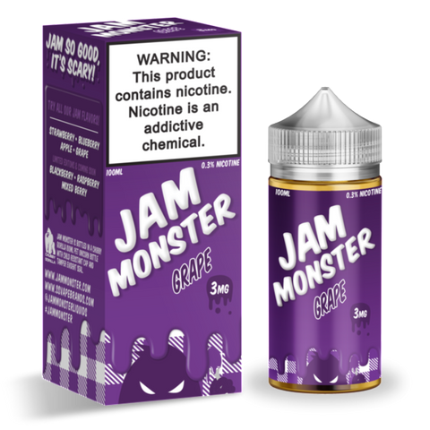 Jam Monster | Grape 100ml