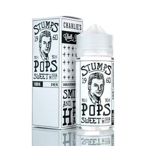 Charlies Stumps | Pops | Sweet and sour Melon 100ml