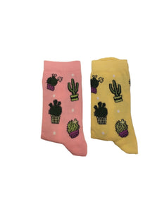 Types of cactus socks- جورب صبار ، شراريب نبات
