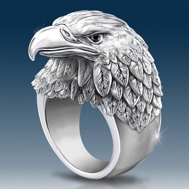 Men's Eagle Ring