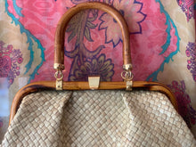 Load image into Gallery viewer, Woven Bamboo Handbag