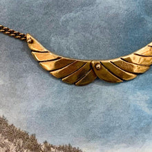 Load image into Gallery viewer, Brass Wings Necklace