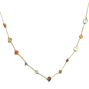True Colors Gem & Stone Necklace