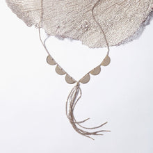 Load image into Gallery viewer, Serpent Half Moon Necklace
