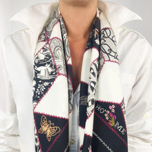 Load image into Gallery viewer, Crazy Quilt Scarf