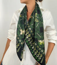 Load image into Gallery viewer, Trellis Butterfly Scarf