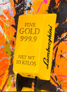 Palm Desert CA Gold Bullion Themed Contemporary Art Collection Launched