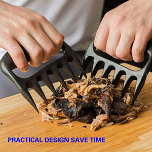 Ankway Pulled Pork Shredder Claws Set of 2 Heat Resistant BBQ Shredding Claws, Meat Claws