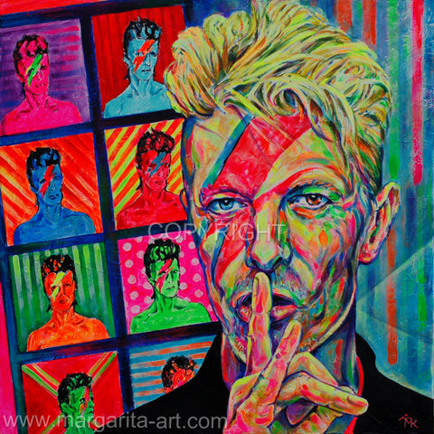 Margarita Kriebitzsch - David Bowie - The bright colors of life