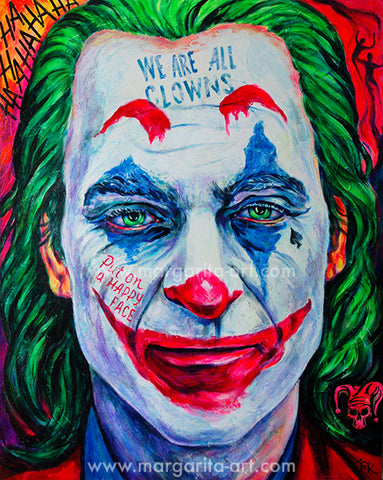 Margarita Kriebitzsch - We are all clowns - Joker