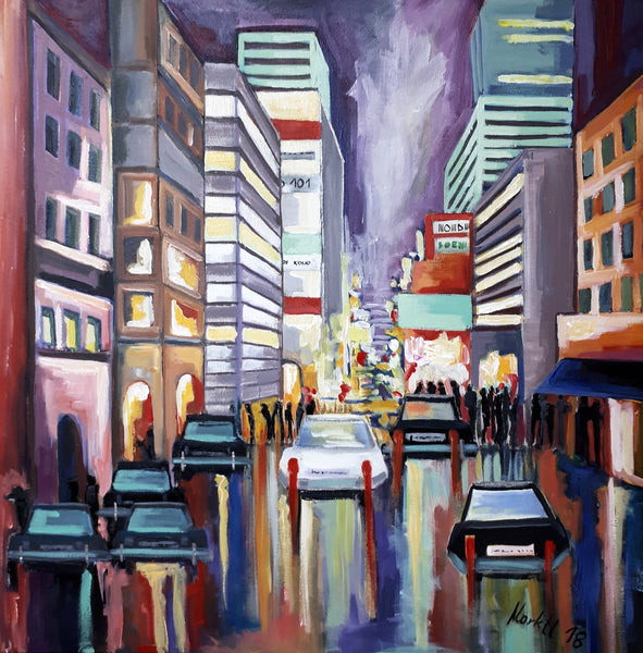 Gerlinde Marktl - Evening in the City