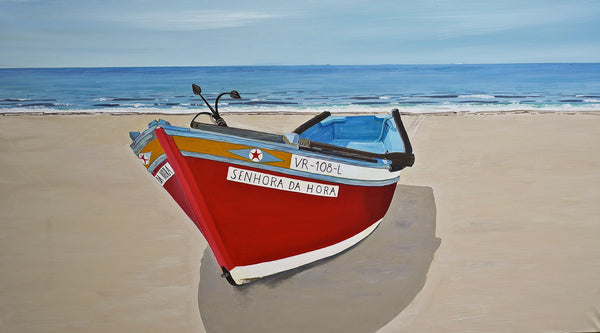 Erich Mayer - Fischerboot Algarve