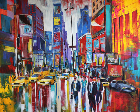 Lucia Maier - New York - Times Square