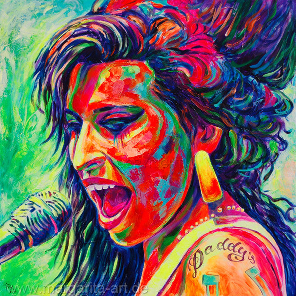 Margarita Kriebitzsch - Amy Winehouse - Soul Legende