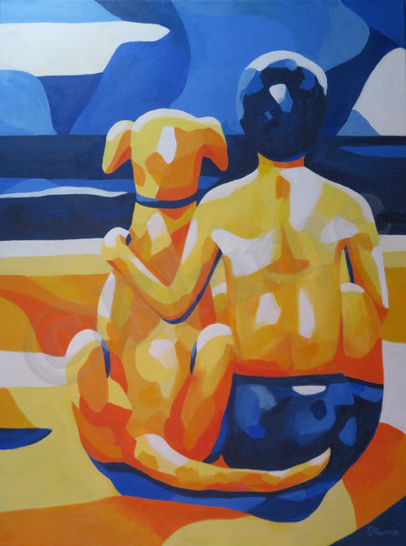 Beate Blume - Best Friends on the Beach