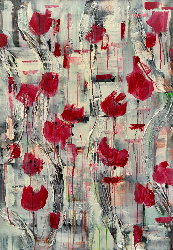 Martina Lenz - Abstract flowers #7