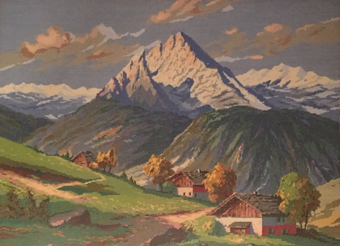 Denis Lemberger - Haus in Berglandschaft
