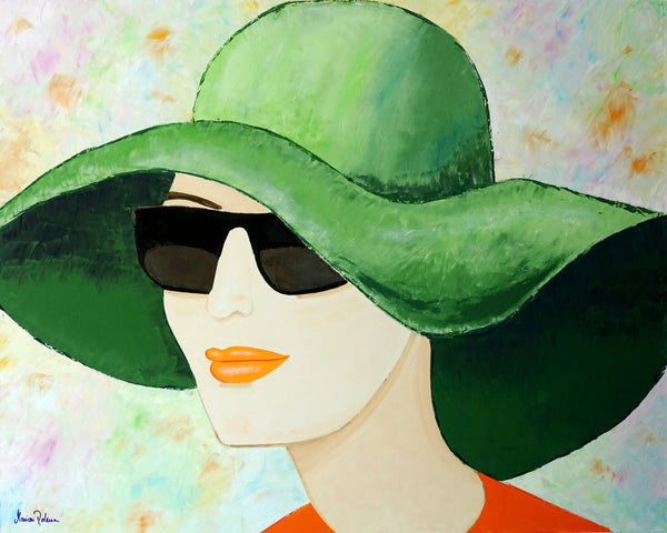 Marion Dahmen - Lady with sunglasses