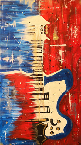 Susan Crämer - The red blue ocean guitar