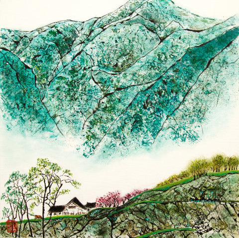 Li Zhou - Blue mountians