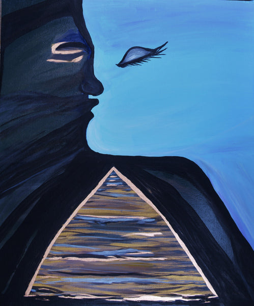 Cornelia Steckhan - Pharoah kisses the Sea Goddess Poster Kunstdruck - Cornelia Steckhan, Kalifornien, USA Wandbild