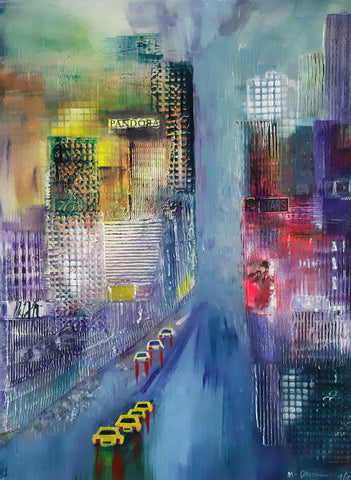 Margret Obernauer - Manhattan View II