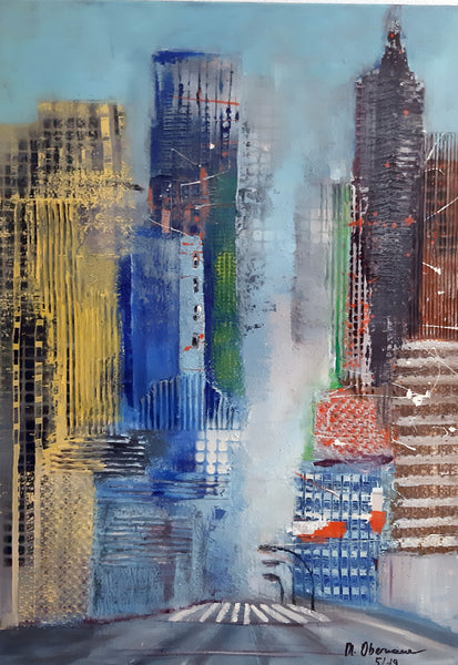 Margret Obernauer - Manhattan View