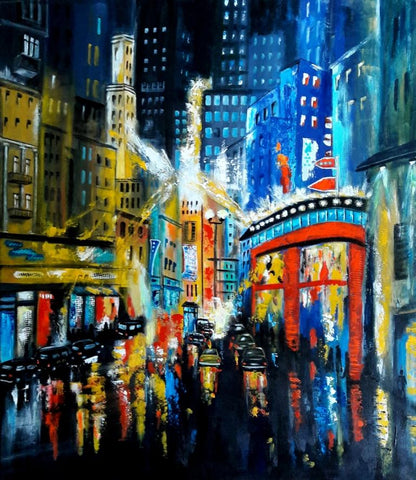 Ulrike Sallos-Sohns - City lights -7-