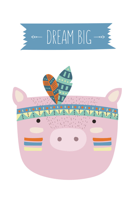 Dream big pig
