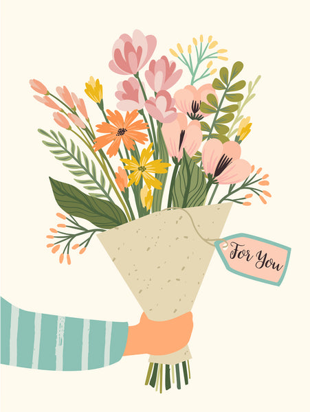 For you Poster Kunstdruck - Illustration, KUNST-ONLINE Wandbild