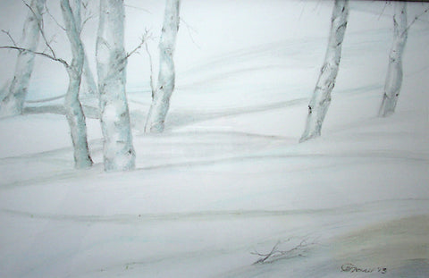 Claire Mesnil - Snowtrees