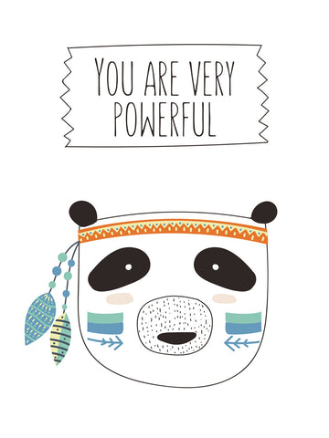 You are very powerful