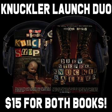 Knuckler Launch Duo (Knuckle Supper and Knuckle Balled) Audio Books by Drew Stepek