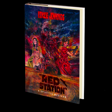 Red Station (Splatter Western) by Kenzie Jennings (Book 7 of 8)