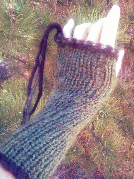 Fingerless Glove - Pine