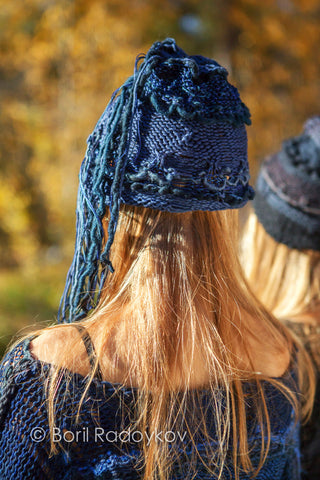 Remnant Hat in Indigo