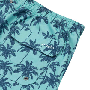 "Cabo 6.5"" Turquoise Palm Trees"