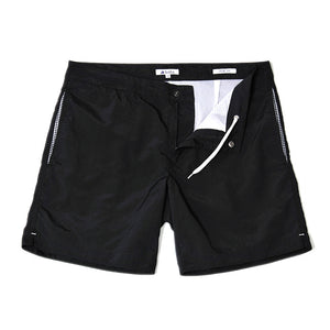 "Aruba 6.5"" Midnight Black Swim Trunks"