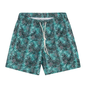 "Cabo 6.5"" Teal/Black Palms"